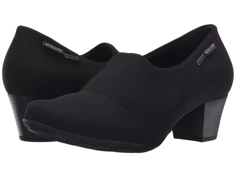 Mephisto - Mila GT (Black Stretch) High Heels