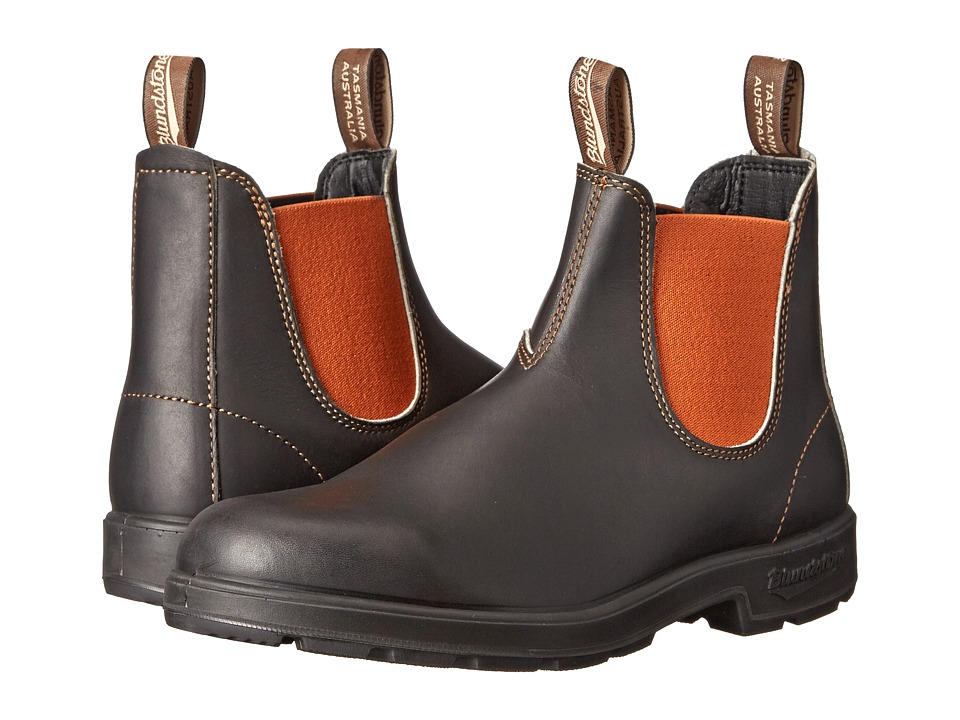 Blundstone BL1435 (Stout Brown/Burnt Orange) Work Boots