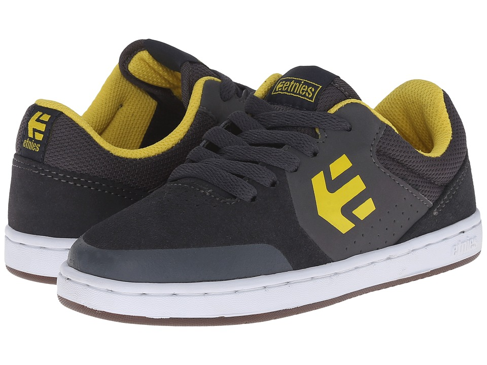 etnies Kids Marana Toddler/Little Kid/Big Kid Grey/Yellow Boys Shoes