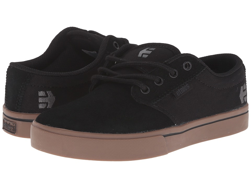etnies Kids Jameson 2 Eco Toddler/Little Kid/Big Kid Black/Gum/Dark Grey Boys Shoes
