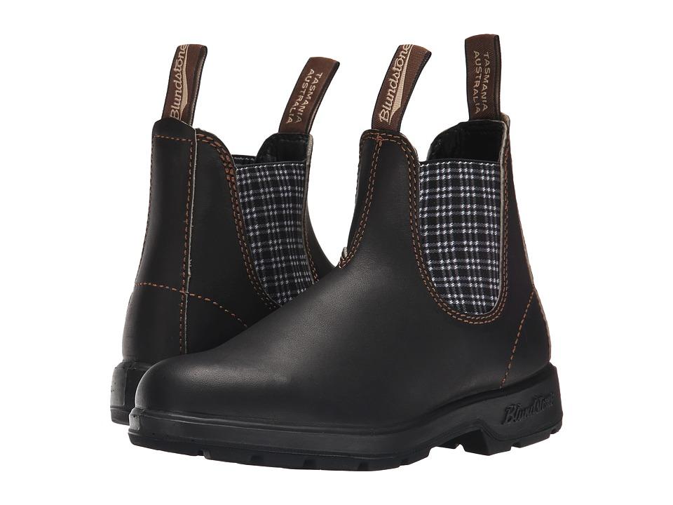 Blundstone BL1463 (Stout Brown/Navy Tartan) Work Boots
