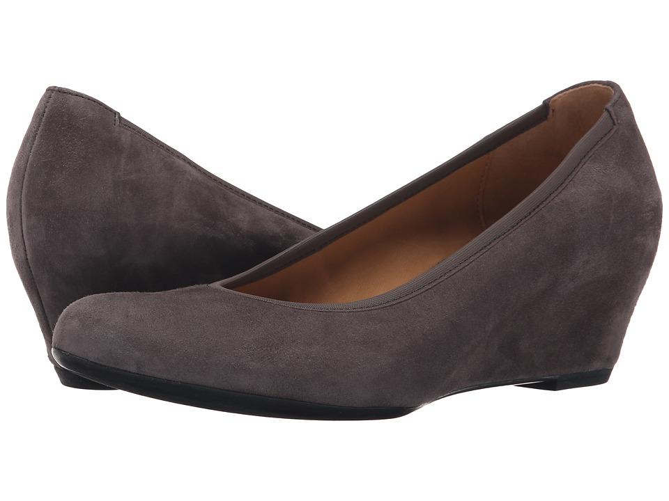 Gabor Gabor 35.630 Grey Samtchevreau Womens 1 2 inch heel Shoes