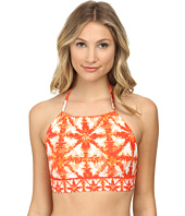 MICHAEL Michael Kors - Glazed Tile Halter Bra Swim Top