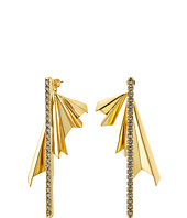 Giles & Brother - The Ray Burst Pave Earrings