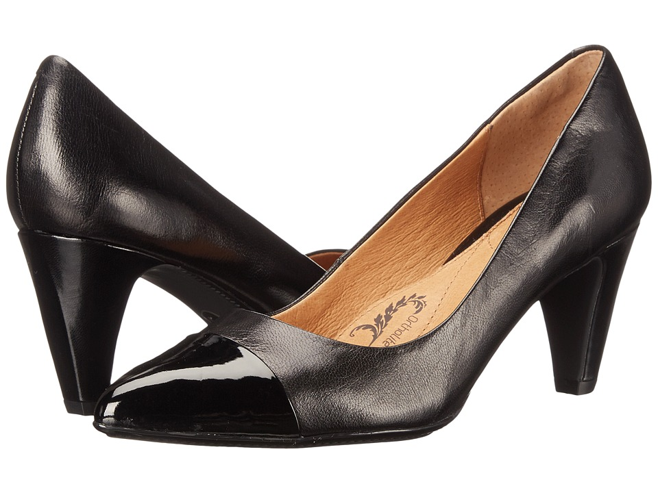 Sofft Tansy Black River Kid/Patent Womens 1 2 inch heel Shoes