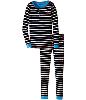 Hatley Kids - Stripe Henley PJ Set (Toddler/Little Kids/Big Kids)