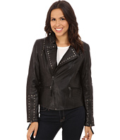 Scully - Corrissa Eagle Studded Leather Jacket