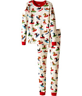 Hatley Kids - Sledding Dogs PJ Set (Toddler/Little Kids/Big Kids)
