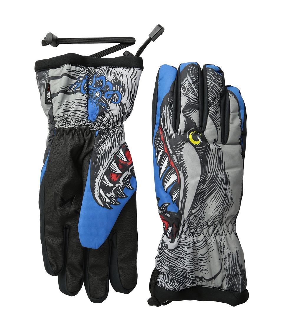 Celtek Bitten By A Glove Shark Attack Snowboard Gloves