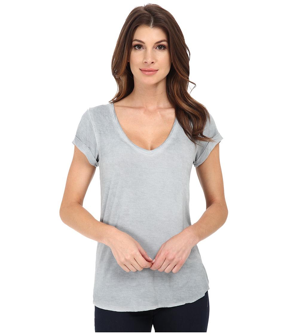 Paige Charlie Tee Vintage Grey Womens T Shirt