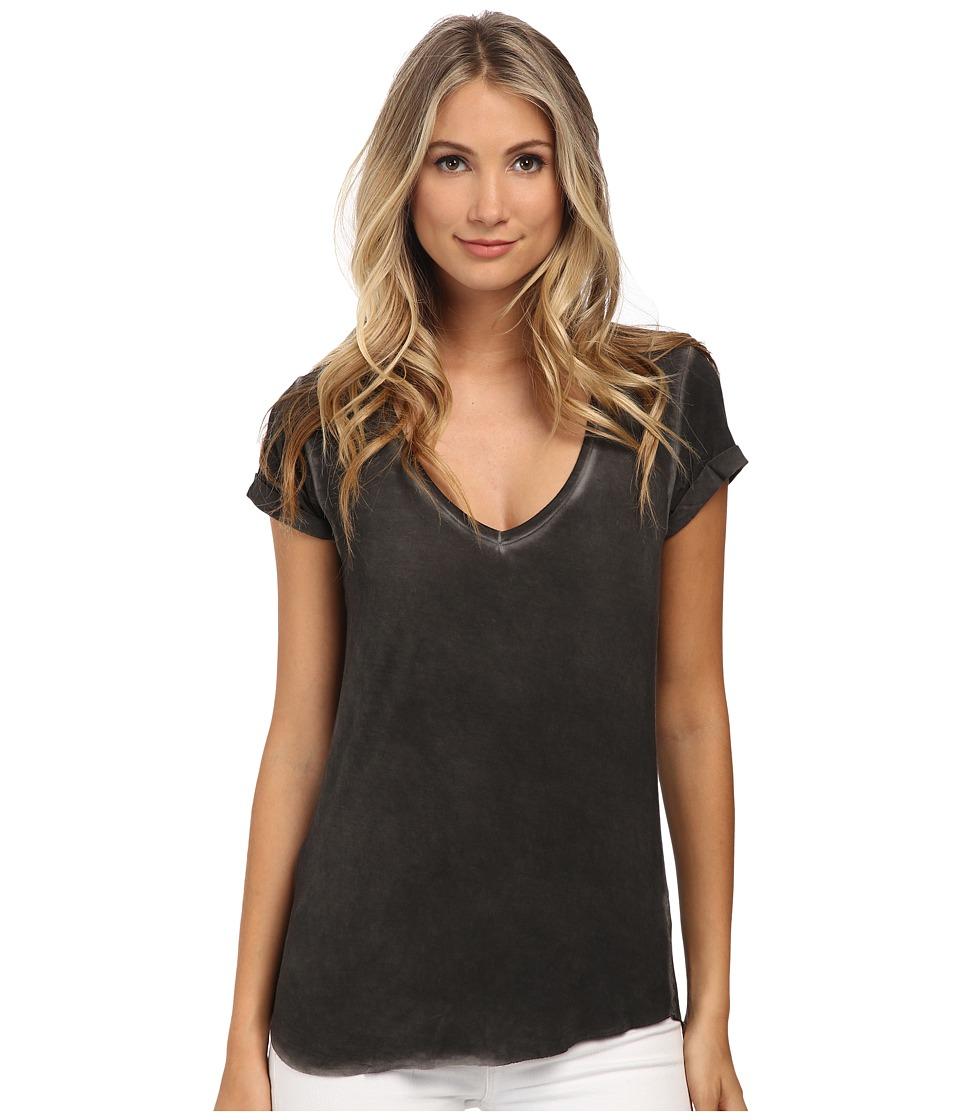 Paige Charlie Tee Vintage Black Womens T Shirt