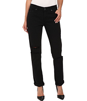 Paige - Jimmy Jimmy Skinny in Vintage Black Destructed