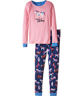 Hatley Kids - Horses & Flowers PJ Set (Toddler/Little Kids/Big Kids)