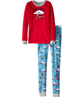 Hatley Kids - Retro Ski PJ Set (Toddler/Little Kids/Big Kids)