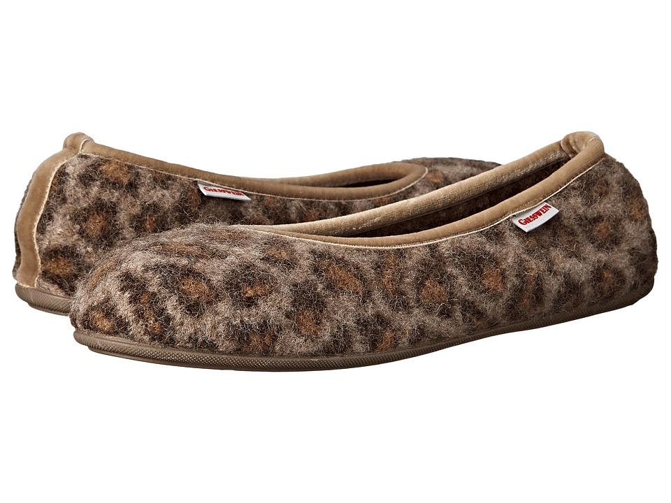Giesswein Lucie Cheetah Womens Slippers