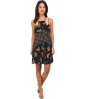 Free People - Printed Rayon Voile Crescent Slip