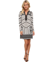 Hale Bob - Trail To Machu Picchu Signature Dress w/ Beaded Neckline