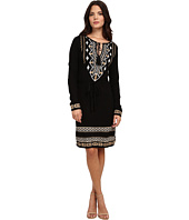 Hale Bob - American Alpine Rayon/Nylon Blend Jacquard Dress