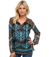 Hale Bob - Trail To Machu Picchu Silk Blouse