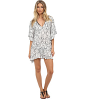 Vix - Serpent Off White Maud Caftan Cover-Up