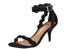 Chinese Laundry - Rubie Scalloped Sandal (Black Suede)