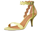 Chinese Laundry - Rubie Scalloped Sandal (Lime Suede)