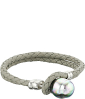 Majorica - Nautical Braided Leather Bracelet