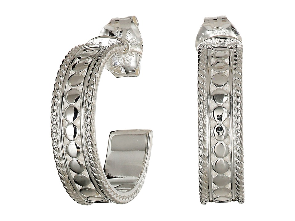 Anna Beck Mini Hoop Sterling Silver Earring
