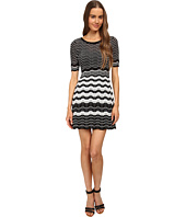 M Missoni - Placed Greek Knit Dress