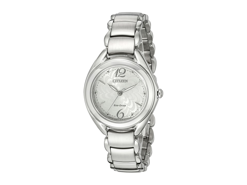 Citizen Watches - FE2070-84A Eco-Drive L Collection (Silver Tone Stainless Steel) Watches