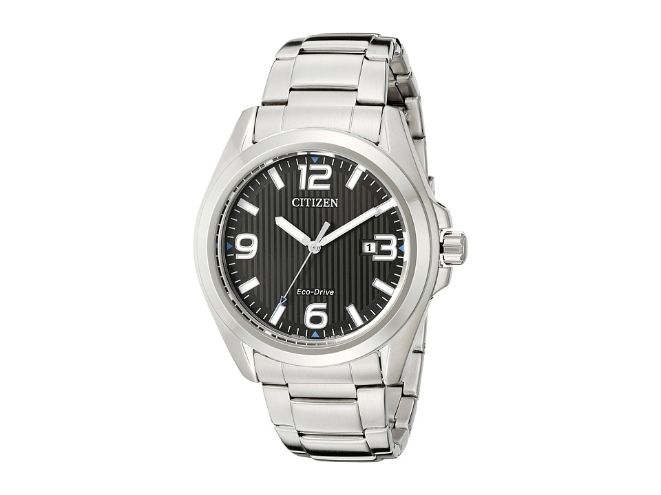Citizen Watches - AW1430-86E Eco-Drive Sport (Silver Tone Stainless Steel) Watches