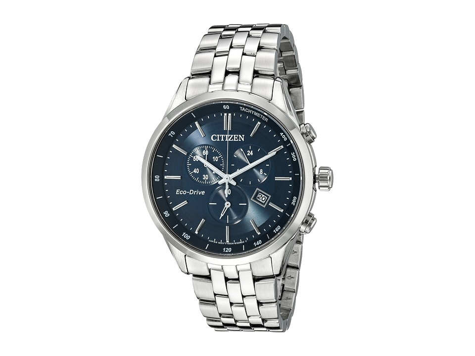 Citizen Watches AT2141 52L Eco Drive Dress Silver Tone Stainless Steel Watches