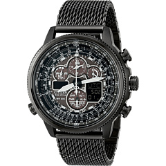 Citizen Watches JY8037-50E Eco-Drive Navihawk A-T  Grey Ion Plated Stainless Steel