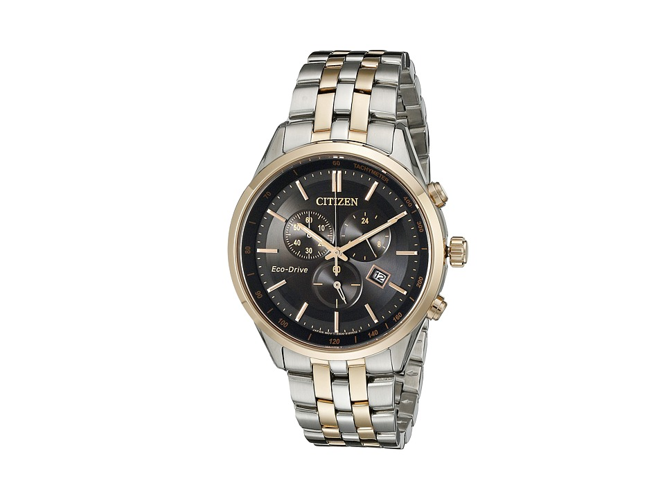 Citizen Watches AT2146 59E Eco Drive Dress Two Tone Stainless Steel Watches