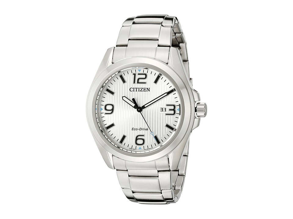 Citizen Watches - AW1430-86A Eco-Drive Sport (Silver Tone Stainless Steel) Watches