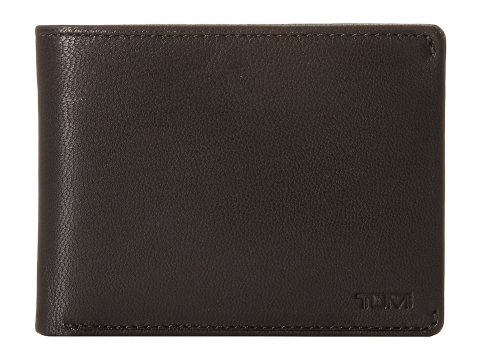 Tumi - Chambers Double Billfold with ID (Black) Bill-fold Wallet