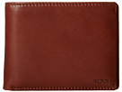 Tumi Chambers Global Removable Passcase ID Wallet (Teak)