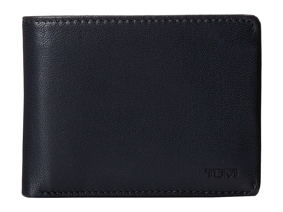 Tumi - Chambers Double Billfold with ID (Navy) Bill-fold Wallet