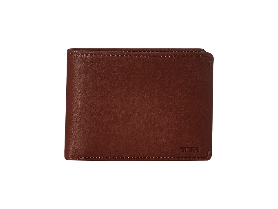 Tumi - Chambers Double Billfold with ID (Teak) Bill-fold Wallet
