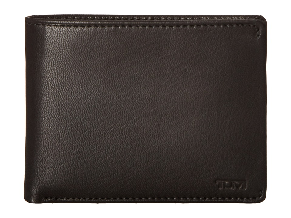 Tumi - Chambers Global Double Billfold with ID (Black) Bill-fold Wallet