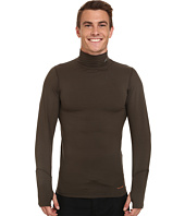 Terramar - Thermolator Long Sleeve Mock Neck w/ Mesh