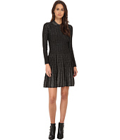 M Missoni - Monocromatic Vertical Stripe Lurex Dress