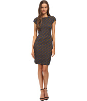 M Missoni - Geometric Jacquard Cap Sleeve Dress