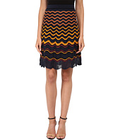 M Missoni - Greek Key Knit Skirt