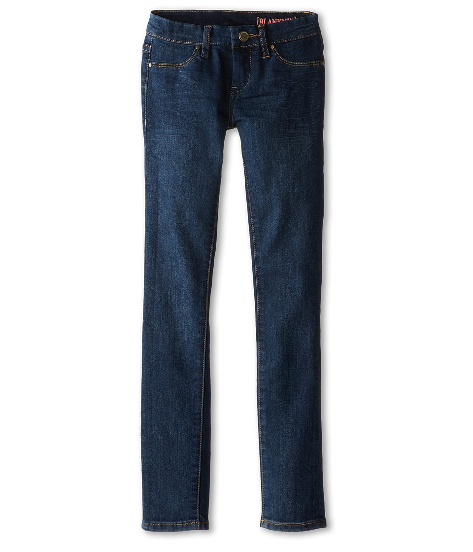 Blank NYC Kids - Dark Denim Skinny Jeans in Super (Big Kids) (Super) Girls Jeans