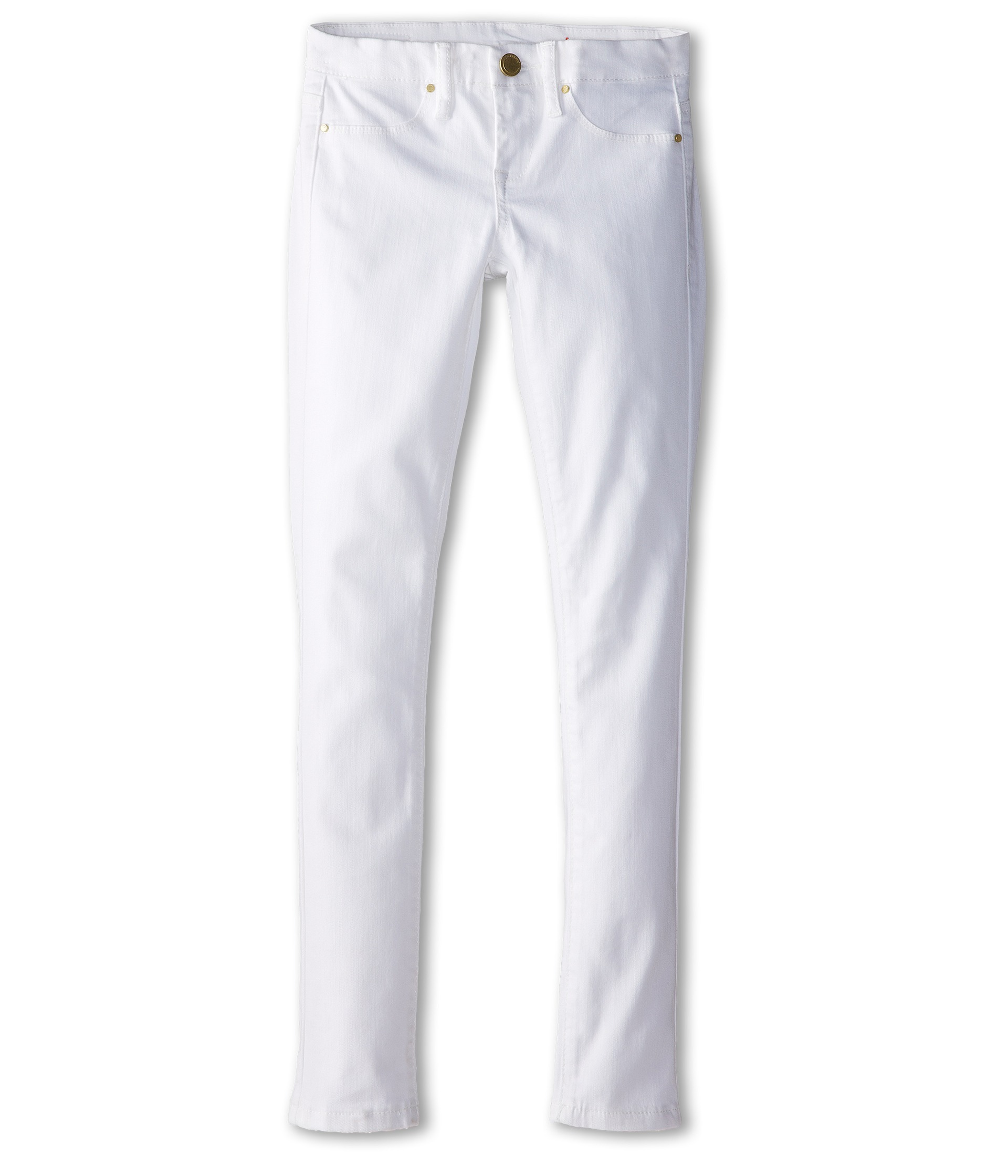 Blank NYC Kids Skinny Jeans in White Lines (Big Kids) - Zappos.com ...