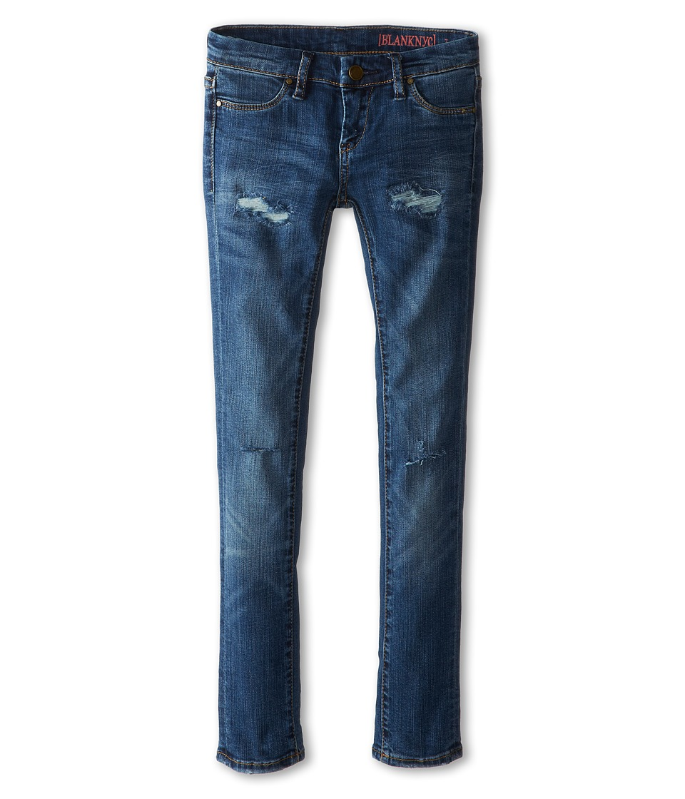 Blank NYC Kids - Distressed Denim Skinny Jeans in No Time For Dat (Big Kids) (No Time For Dat) Girls Jeans