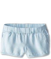 Blank NYC Kids - Elastic Band Light Wash Shorts in Sugar Lips (Big Kids)