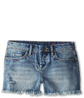 Blank NYC Kids - Medium Denim Cut Off Shorts in Flavor Savor (Big Kids)