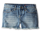 Blank NYC Kids Medium Denim Cut Off Shorts in Flavor Savor (Big Kids)